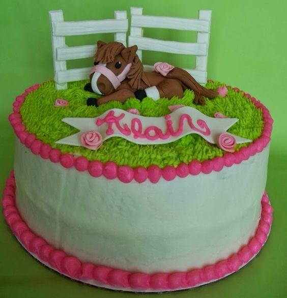 Paard taart