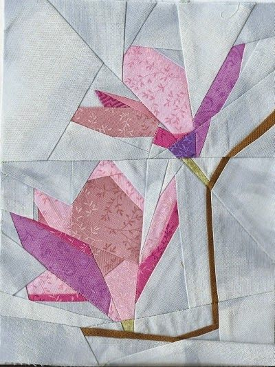 Cattinka | Quilt block patern | Pinterest | Nähen auf Papier, Papier ...