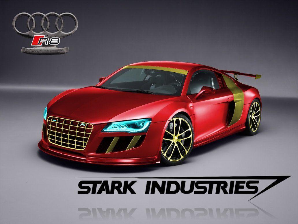 Iron Man Stark Industries Audi Abt R8 Gt R Concept By
