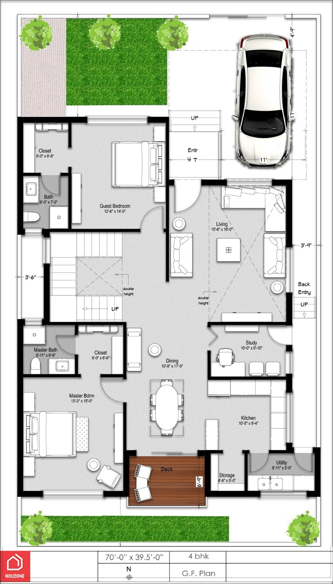 Pin By Akhil Chowdary On Dream House Duplex House Plans Duplex House Design Bungalow House Design