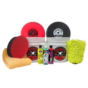 Chemical Guys Hol129 Best Two Bucket Wash And Dry Kit 11 Items Chemical Guys Car Wax Car Detailing