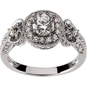 4 unique engagement ring trends for spring 2013 - Antique Style Wedding Rings