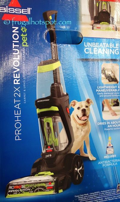 update have a messy pet and need to get rid of some deep down stains costco has the bissell proheat revolution pet carpet cleaner on sale for a - Bissell Pet Carpet Cleaner