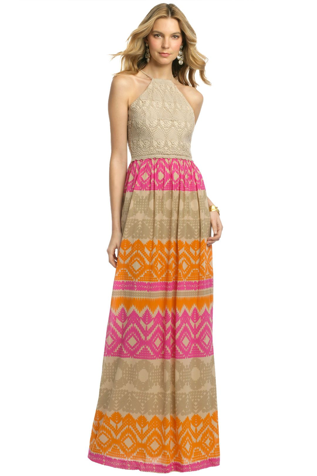 This gorge trina turk maxi would be perfect for a summer for Summer maxi dresses weddings