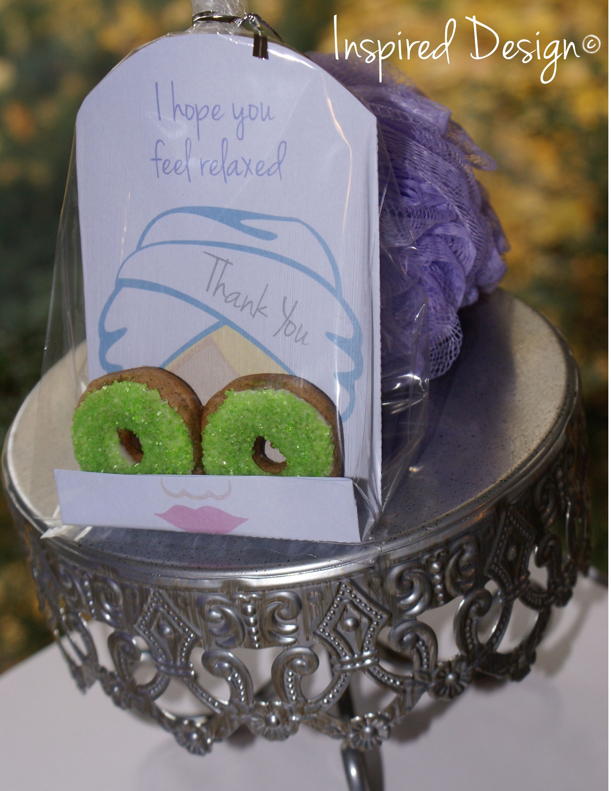 Spa Party Favors This Is So Happening Camille S Princess Spa