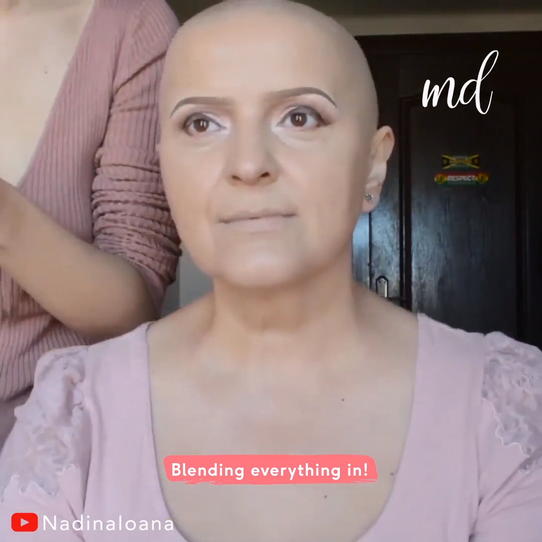 Chemo Patient Makeover Tutorial Transformation This