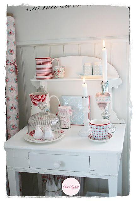 vida Cottage ano inteiro: imagens acolhedores da nossa cozinha.