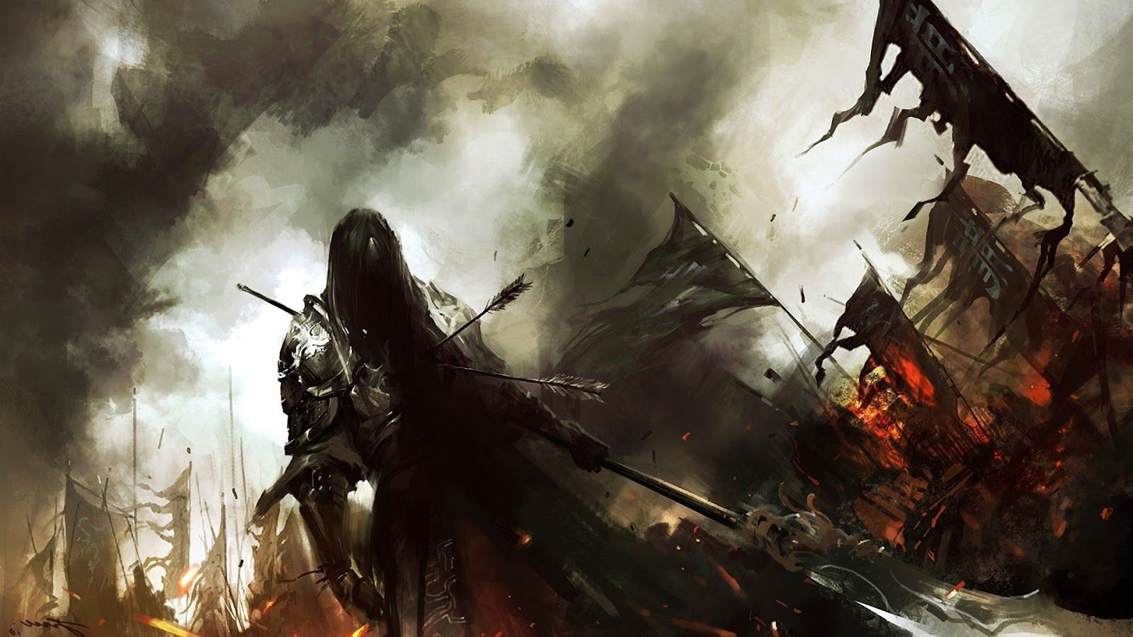 Awesome Epic Fantasy Books Worth Your Time Warriors Wallpaper Epic Fantasy Books Guild Wars