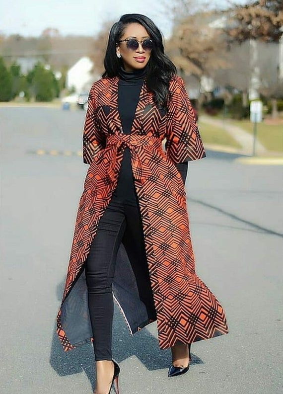 African print jacket/African print kimono/Ankara/African Clothing/African Fashion/Ankara Clothing/African print dress/Ankara prom dress
