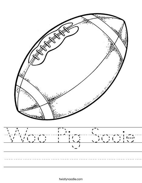 Football Worksheet My Oklahoma Students Should Love This