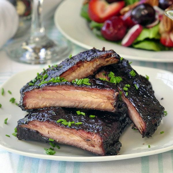 Blueberry Barbeque Ribs Really nice recipes. Every hour.