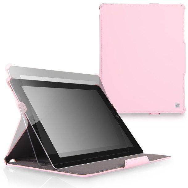 Ace Flip iPad Case Pink