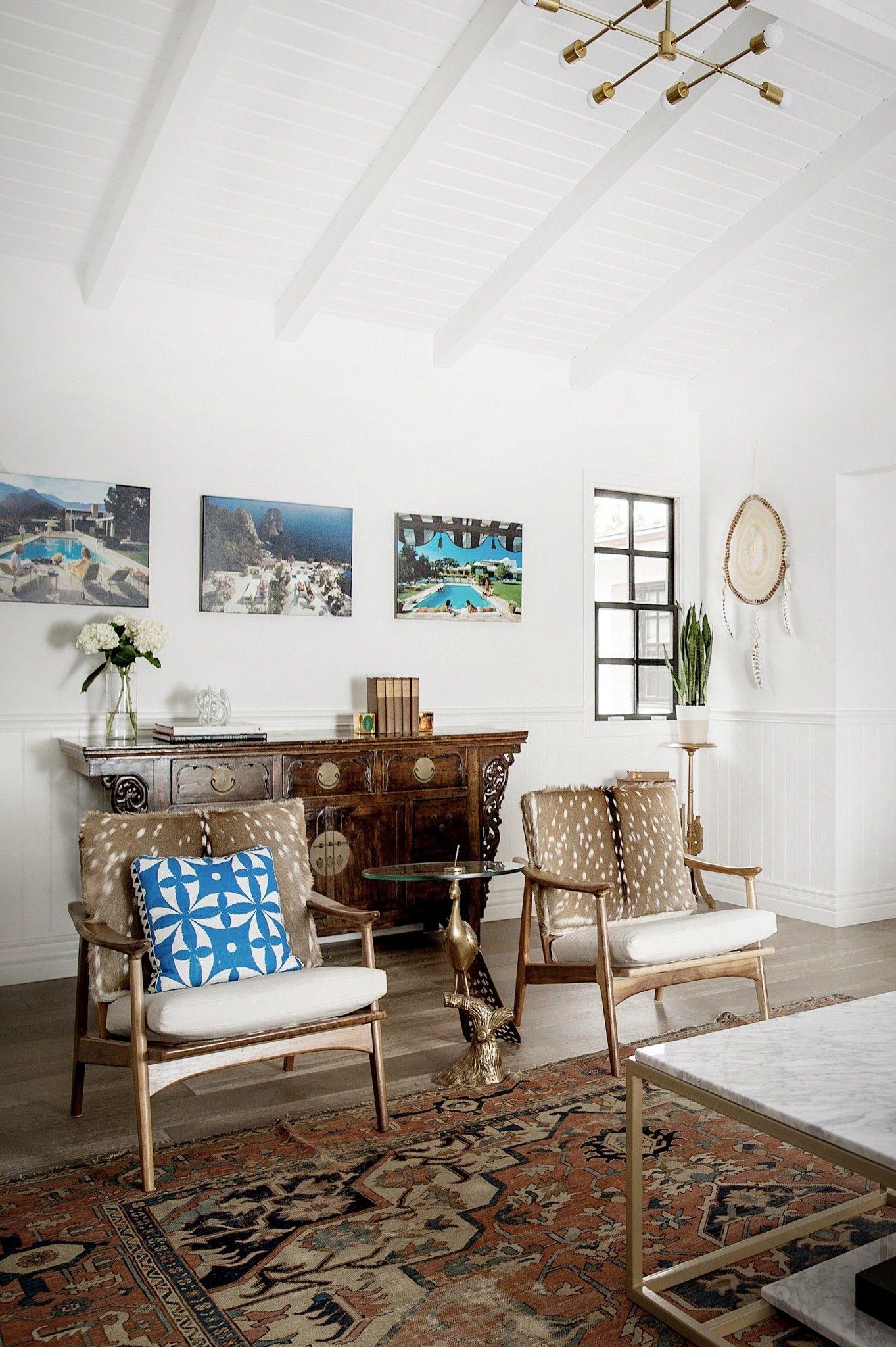 A Beachside Modern Bohemian Home | Deko