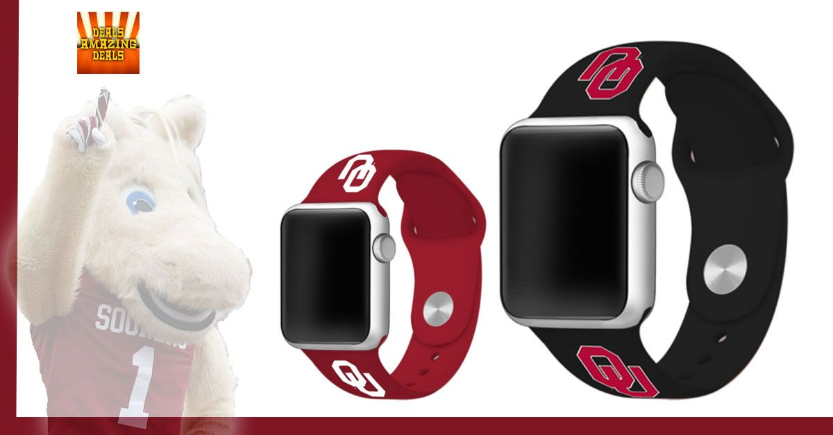 Oklahoma Sooners Fans.. check out Watchbands for Apple