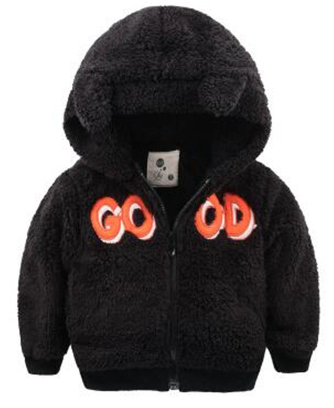Yayu Kids Baby Boys Winter Embroidery Good Zipper Hooded Coat Jacket Black 6y 1 Or 2 Sizes Up Suggested As Ours Ar Coats Jackets Women Zipper Hood Boys Casual [ 1343 x 1100 Pixel ]