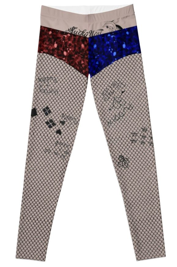 Harley Quinn Suicide Squad Leggings by TightPlays