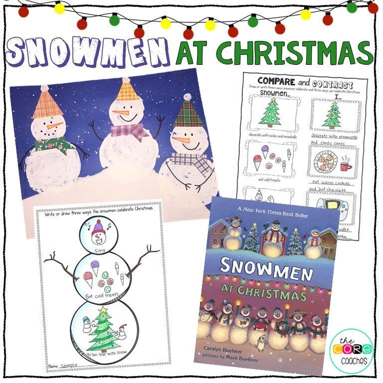 Snowmen At Christmas.Snowmen At Christmas Interactive Read Aloud Lesson Plans