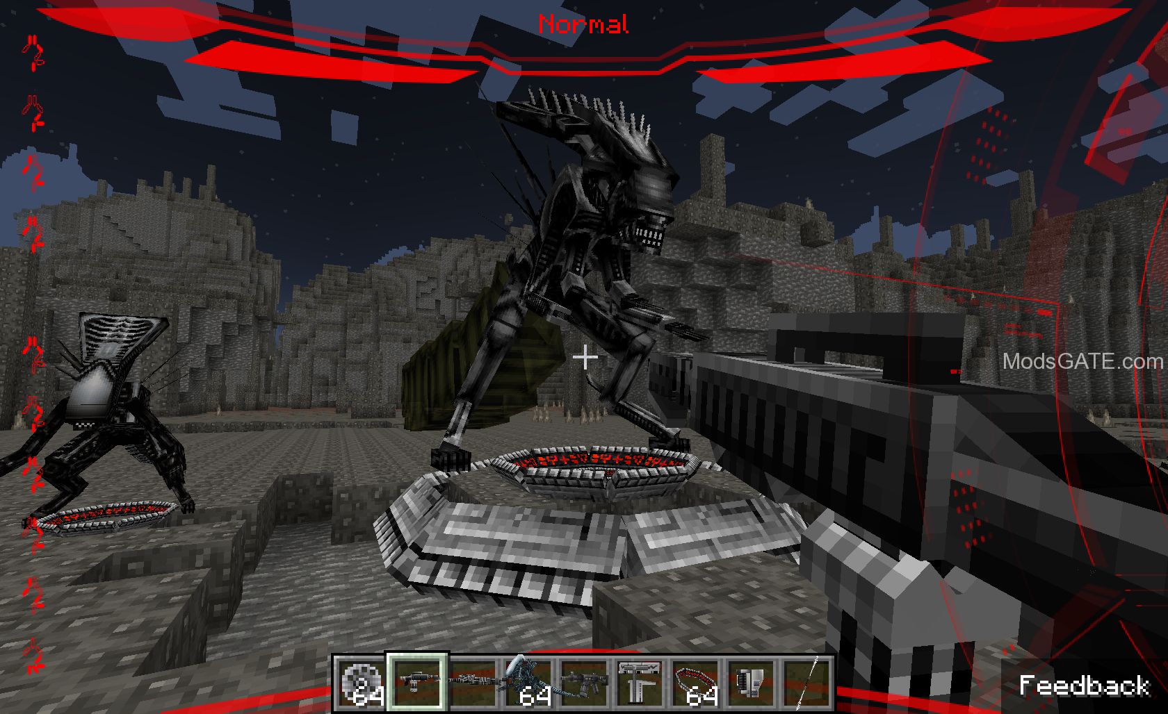 Alien Mod Vs 1710 Predator Minecraft