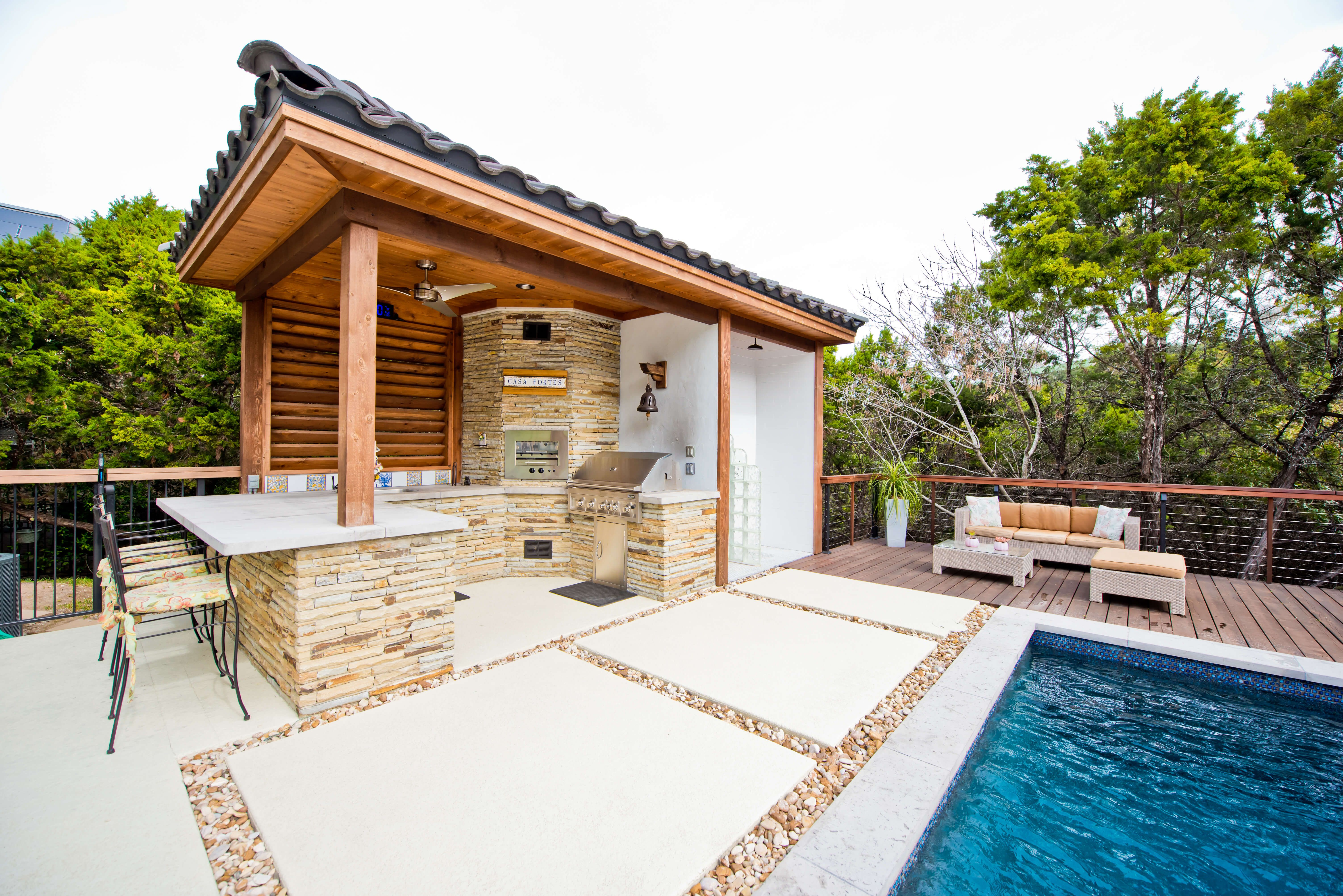 Austin outdoor living photos outdoor living covered