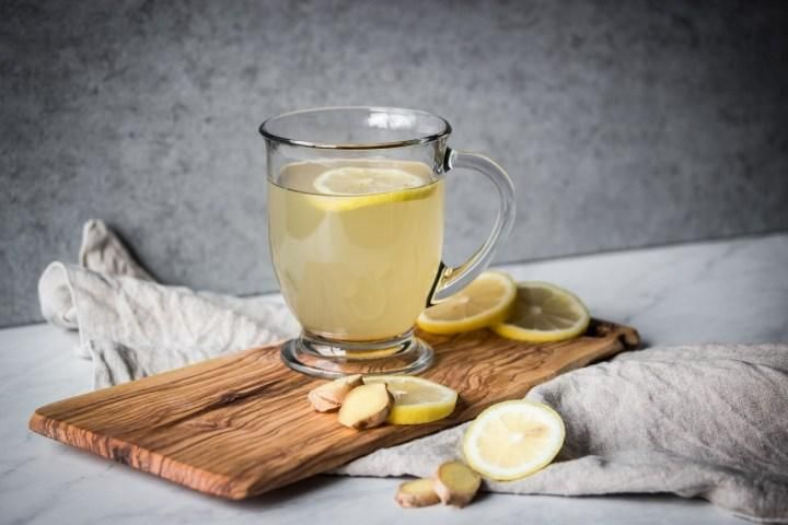 Healthy Lemon Ginger Tea This healthy lemon ginger tea recipe is great for colds I add honey and a pinch of cayene to give it great flavor My easy recipe walks you throug...