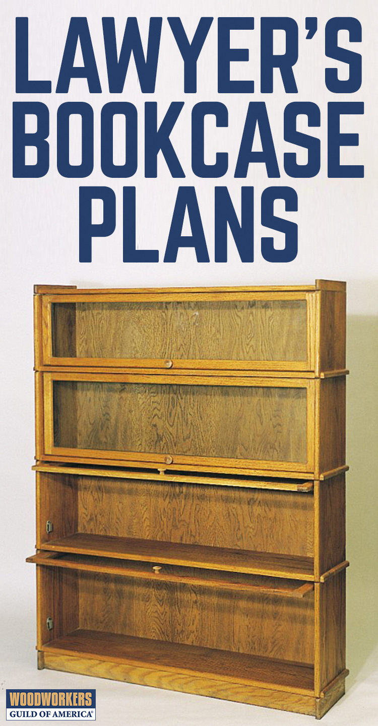 As Common In Law Offices Today As They Were 100 Years Ago Traditional Lawyer S Bookcases Are Designed For Storing Expe Bookcase Plans Bookcase Diy How To Plan