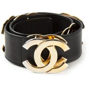 chanel belt. chanel vintage logo belt chanel