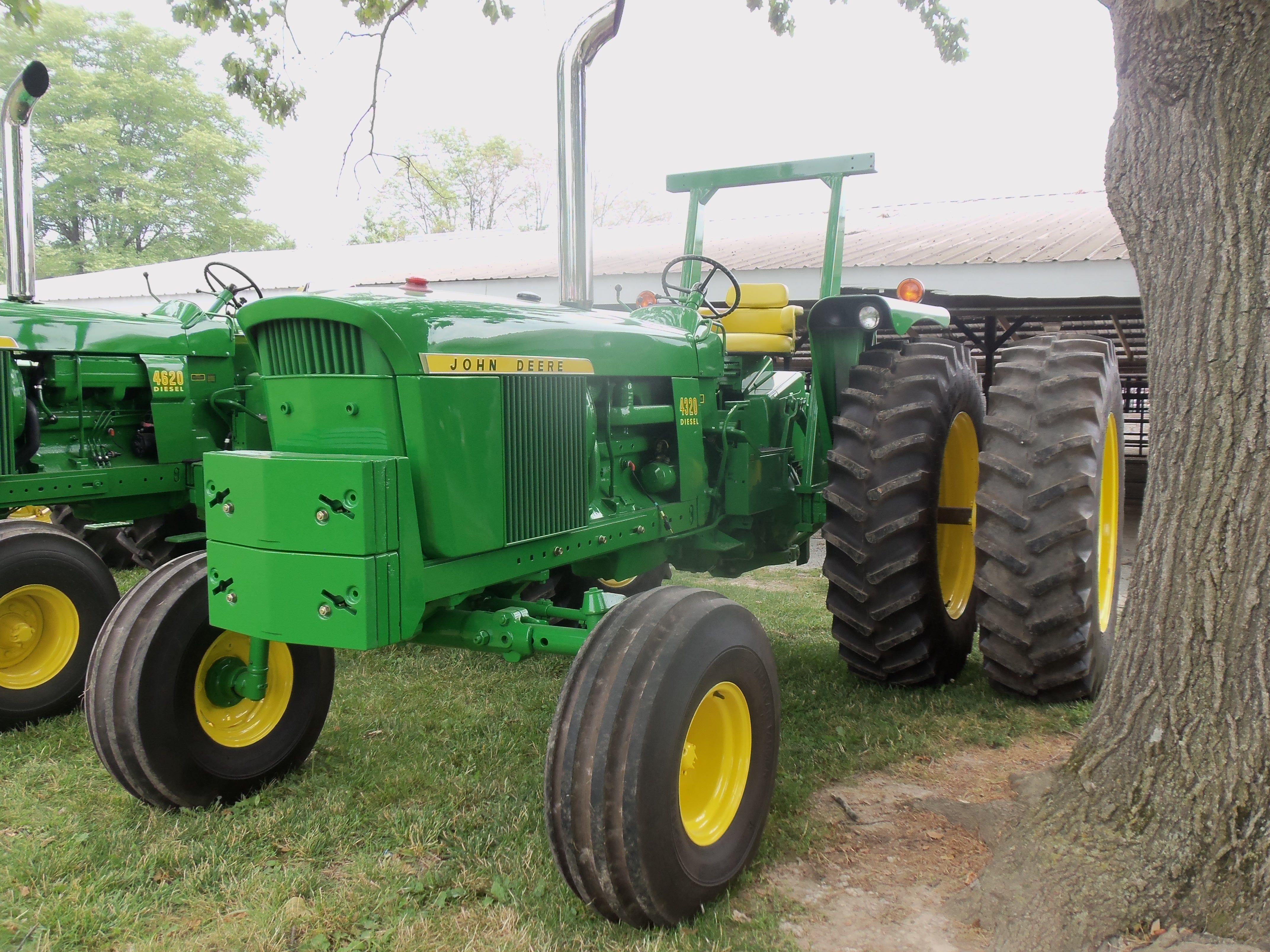 116hp John Deere 4320.Serial Number T613R 027387R Big Tractors, John Deere  Tractors,