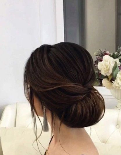 Wedding Hairstyles Brown Hair Updo 21 Ideas