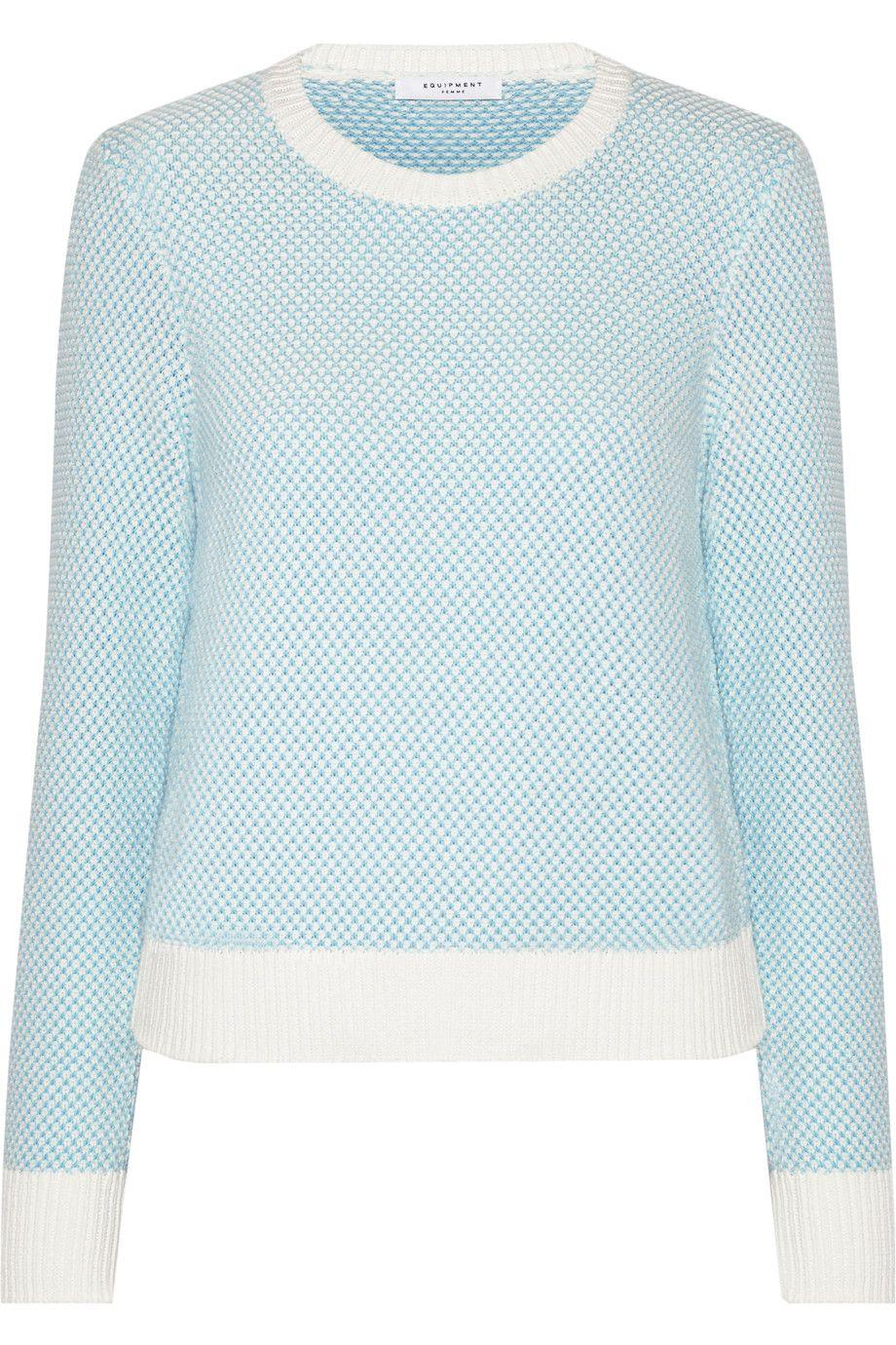 EQUIPMENT Shirley Cotton-Blend Sweater. #equipment #cloth #sweater