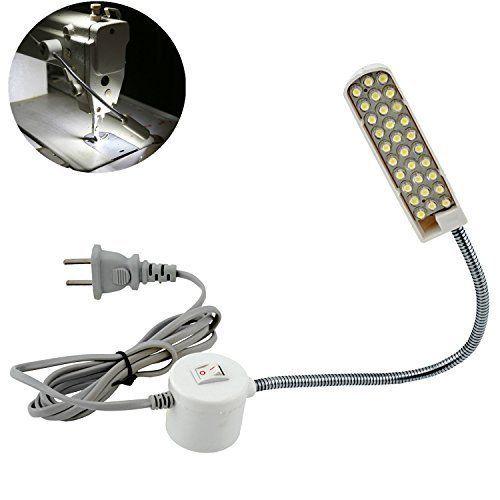 Amazon Com Bonlux Led Sewing Machine Light Working Gooseneck Lamp 30 Leds With Magnetic Mounting Base For Home O Led Light Lamp Led Work Light Sewing Machine