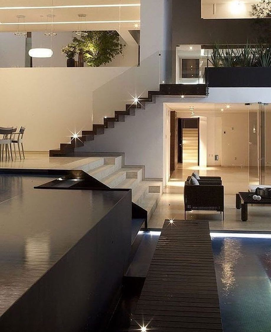 14 1 Mil Me Gusta 48 Comentarios Homes Villas Elegantlife En Instagram Casa Del Agua V House Styles Modern Architecture Interior Architecture Design