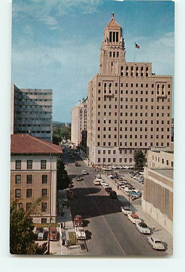 Rochester Minnesota Mayo Clinic Buildings 1955 Postcard | Minnesota