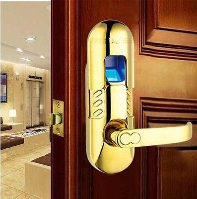 dhl free shipping weatherproof keypad fingerprint door lock 6600