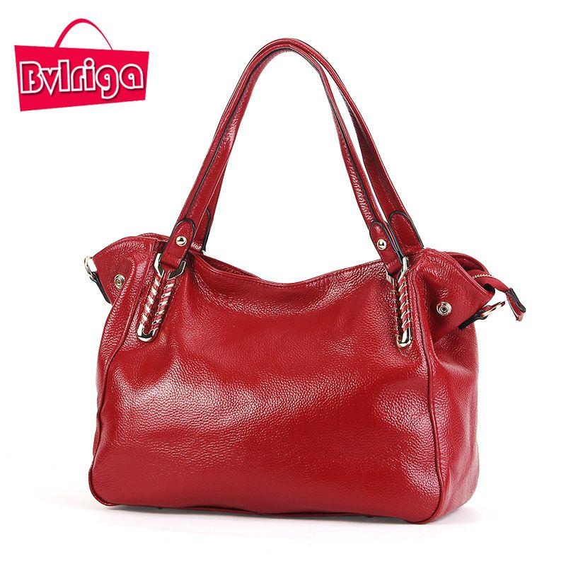 BVLRIGA Genuine Leather Bag Luxury Women Leather Handbags High Quality Women  Messenger Bags Brands Women Bag Designer Handbags 688a269817942