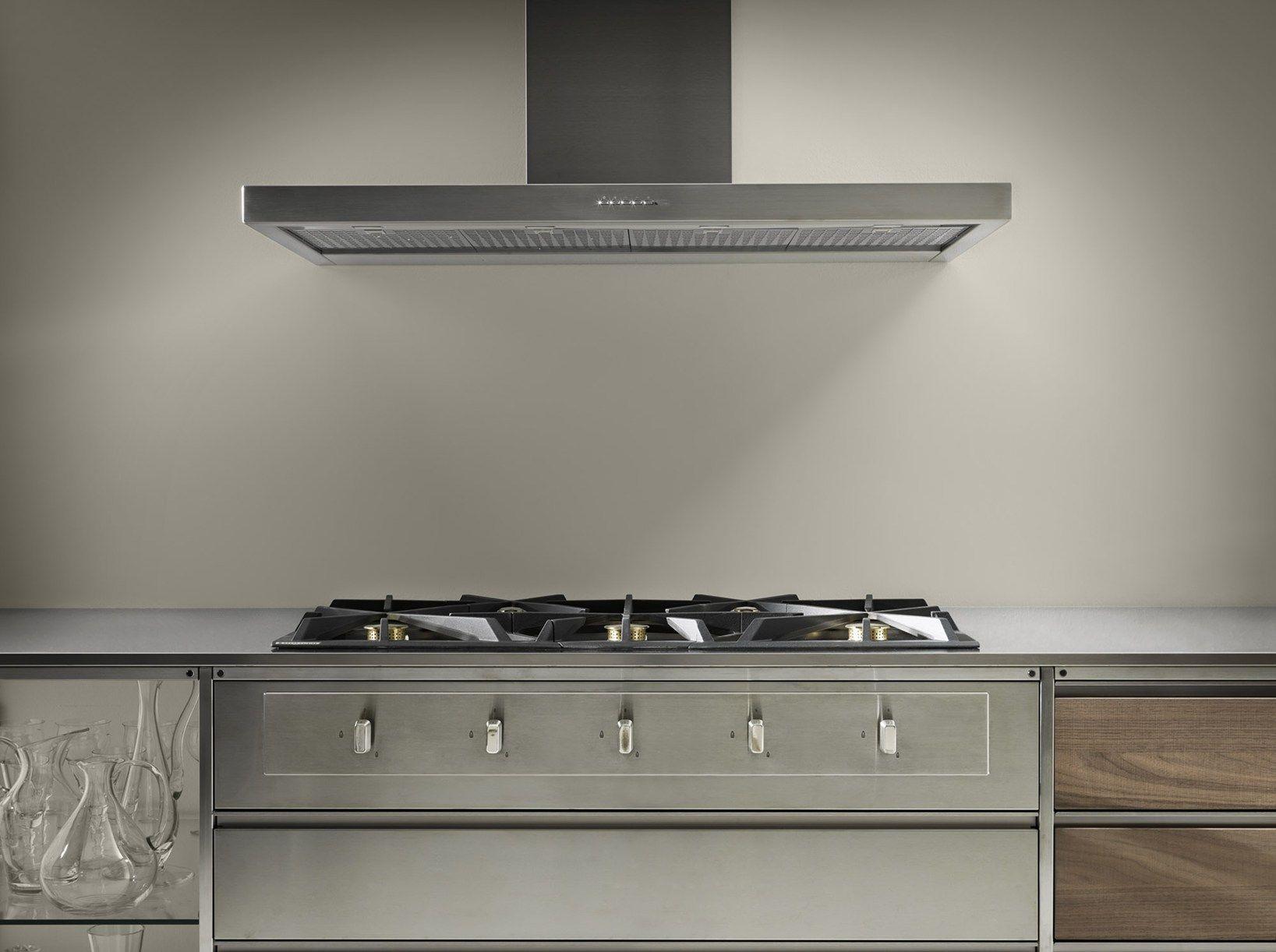 Meccanica By Valcucine Modular Kitchen With A Lightweight Frame Modern Kitchen Steel Frame Kitchen