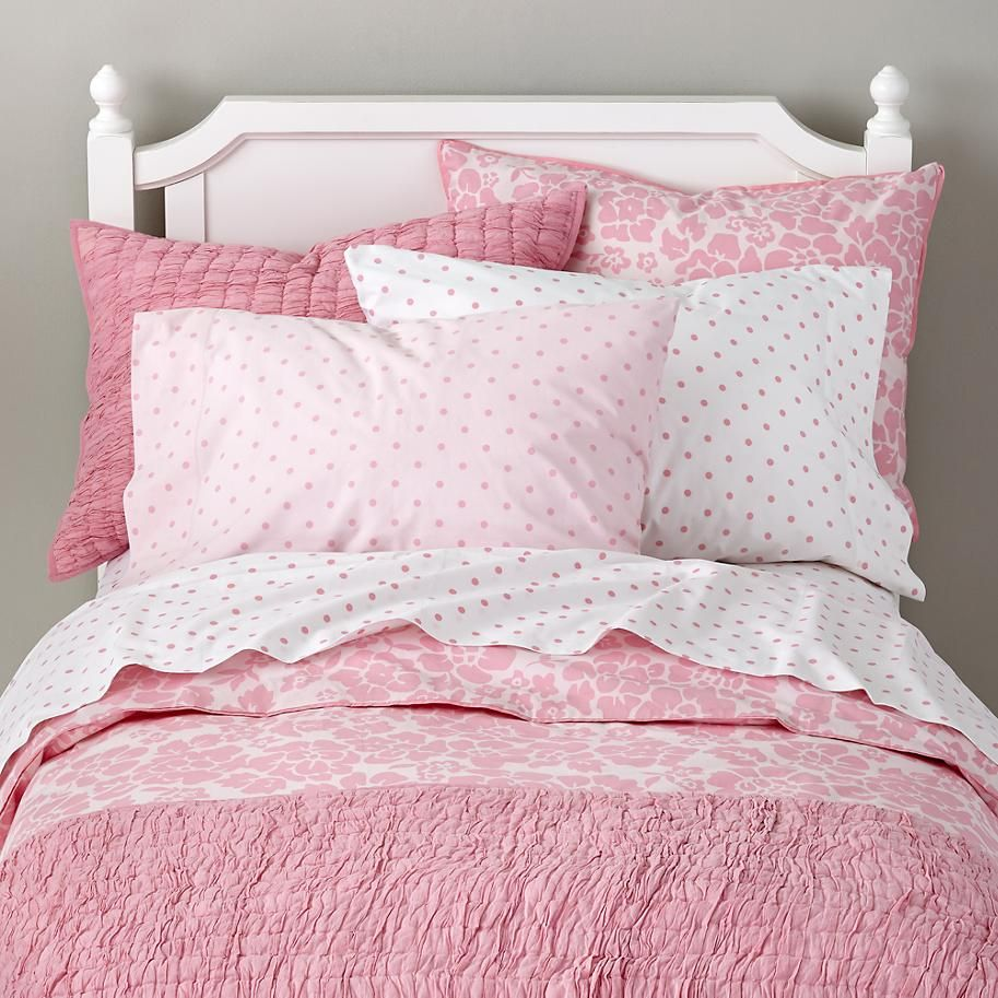 Dream Girl Kid Bedding (Pink) The Land of Nod Pink