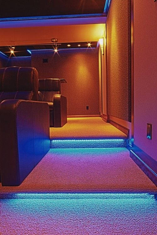 Home Theater Design Ideas Pictures Remodel And Decor Ambiance Lighting Home Theater Design Stair Lighting