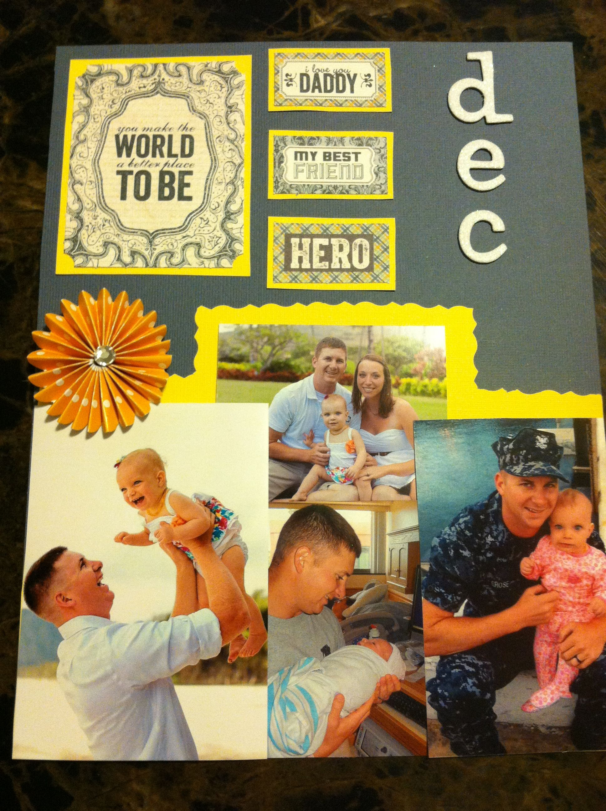 Calendar Square Ideas : Calendar square best daddy ever deployment homecoming