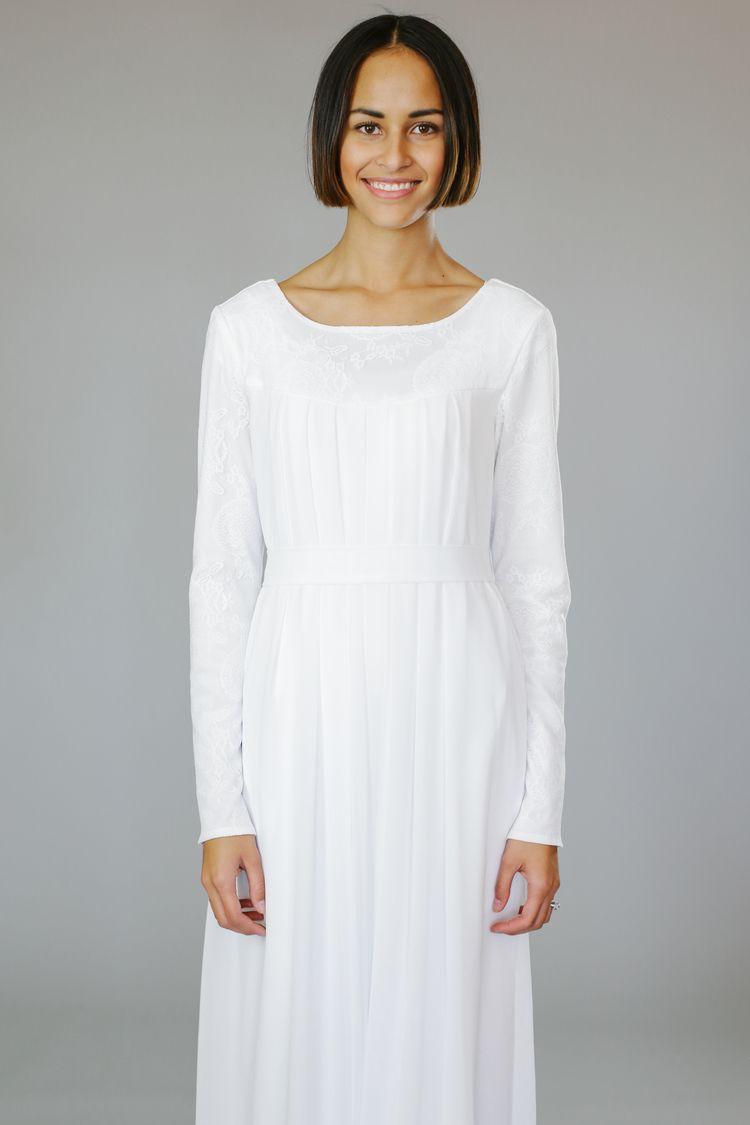 Goldie Temple Dress Lds Temple Dress Dresses [ 1125 x 750 Pixel ]