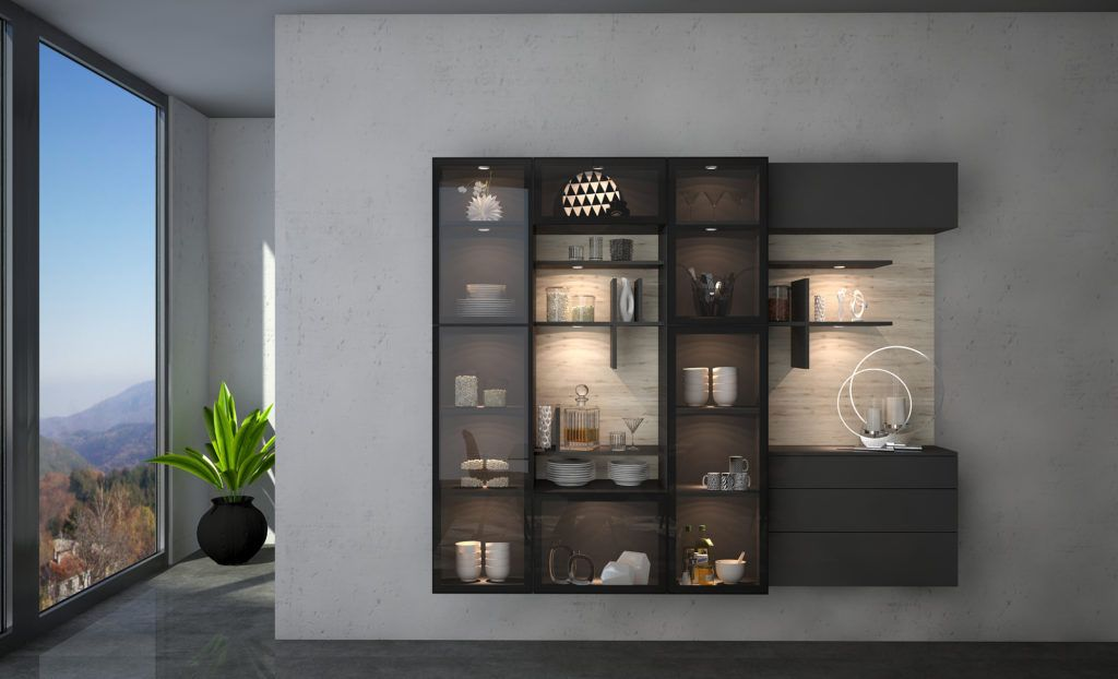 Living Room Wall Mounted Cabinets #homedecor # ...