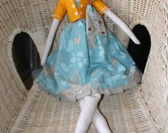Items similar to One Custom Doll from Made by Agah on Etsy