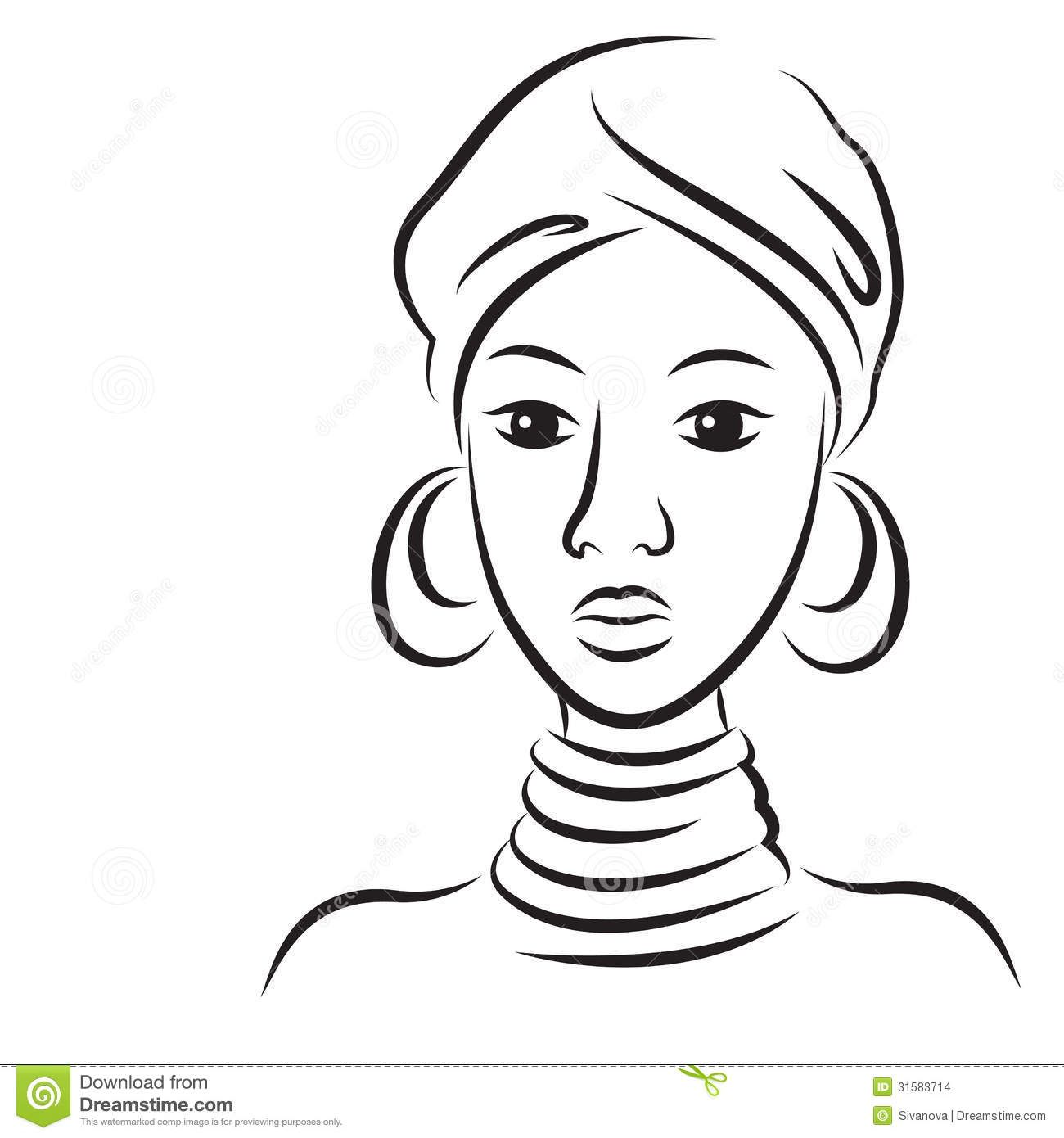 Desenhos Para Pintar Negras Africanas Pesquisa Google Mascaras