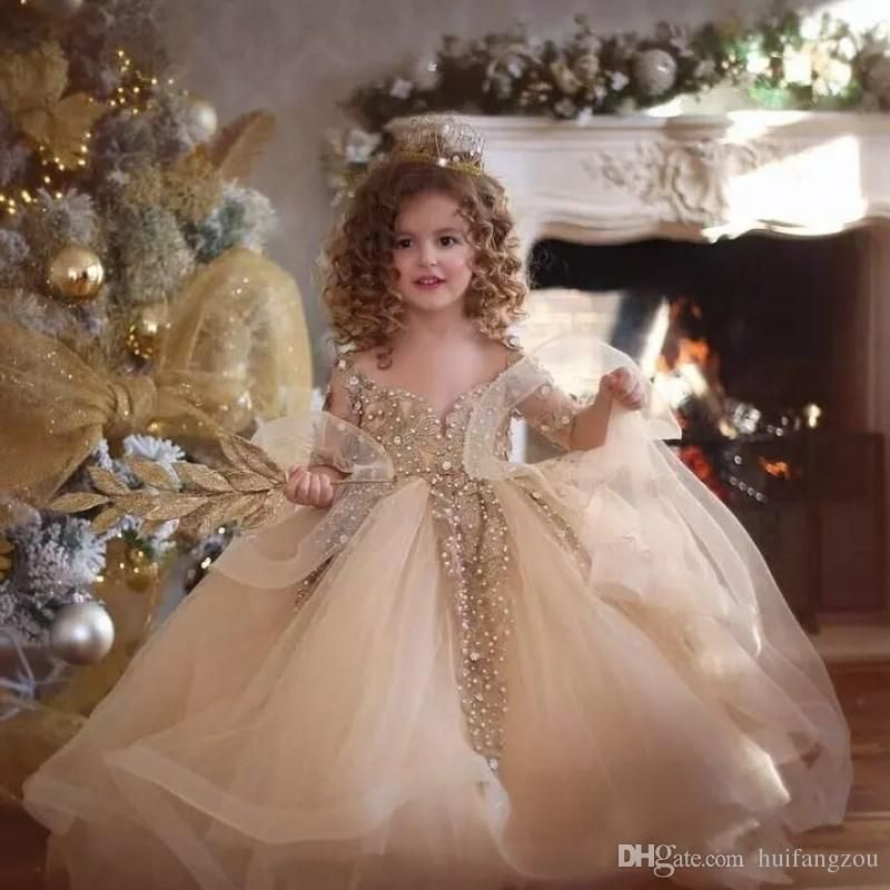 Princess Long Puffy Tulle Prom Dress Children 8 10 12 Kids Evening Gown  With Lace Cape Pink Beaded Sash Flower Girl Dresses 2017 Flower Girl Dresse  Flower ... cb64de768354