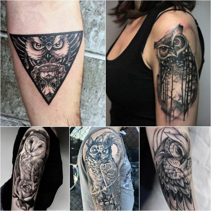 Owl Tattoo Ideas with Meanings - Truly Amazing Owl Tattoos ...