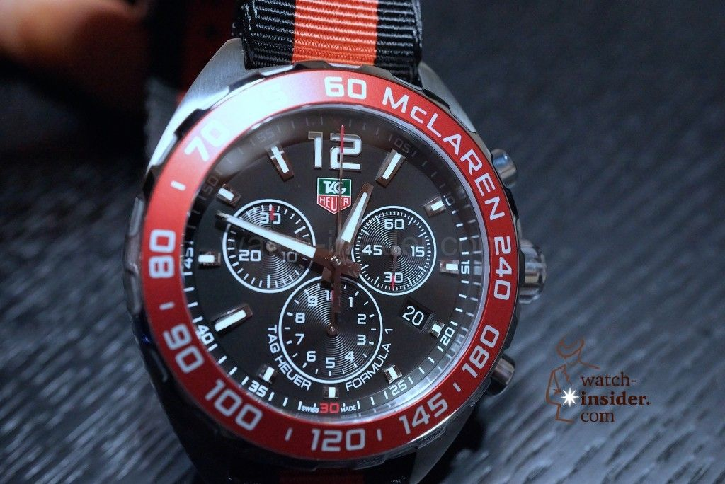 1345fa12d TAG Heuer Formula 1 (42mm) Quartz Chronograph McLaren Numbered Special  Edition (xxxx/5000)