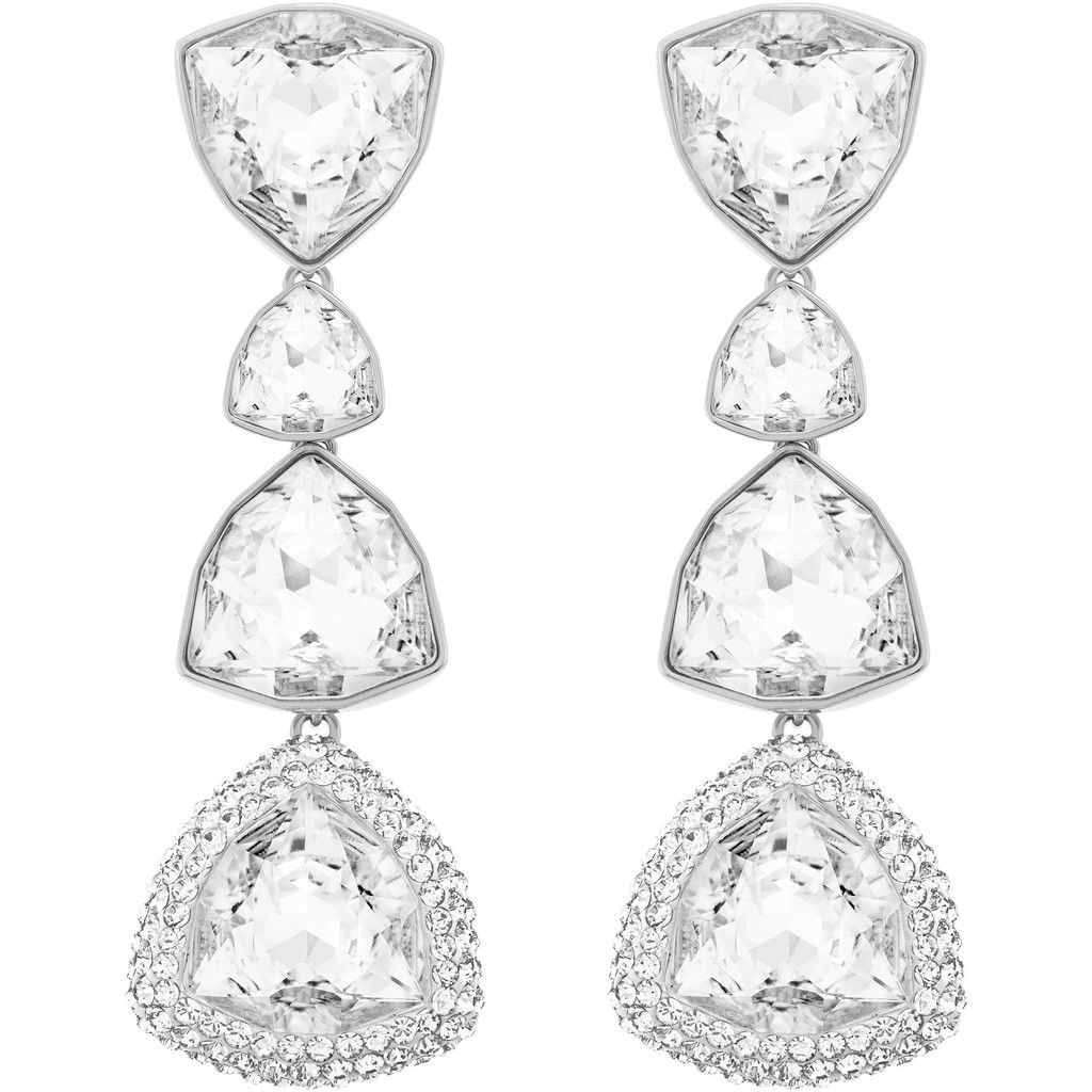 Swarovski Begin Pierced Earrings 5076882 Duty Free Crystal