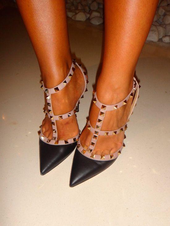 Zapatos Estilo Valentino