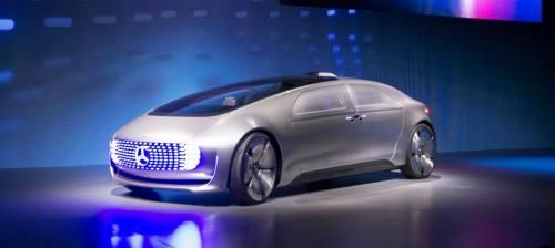 They're coming... Daimler gives look at autonomous 'living space' car Room for 4 facing each other.
