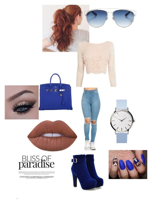 """Untitled #3"" by kaitlynoliver on Polyvore featuring Coast, Hermès, Christian Dior and Lime Crime"