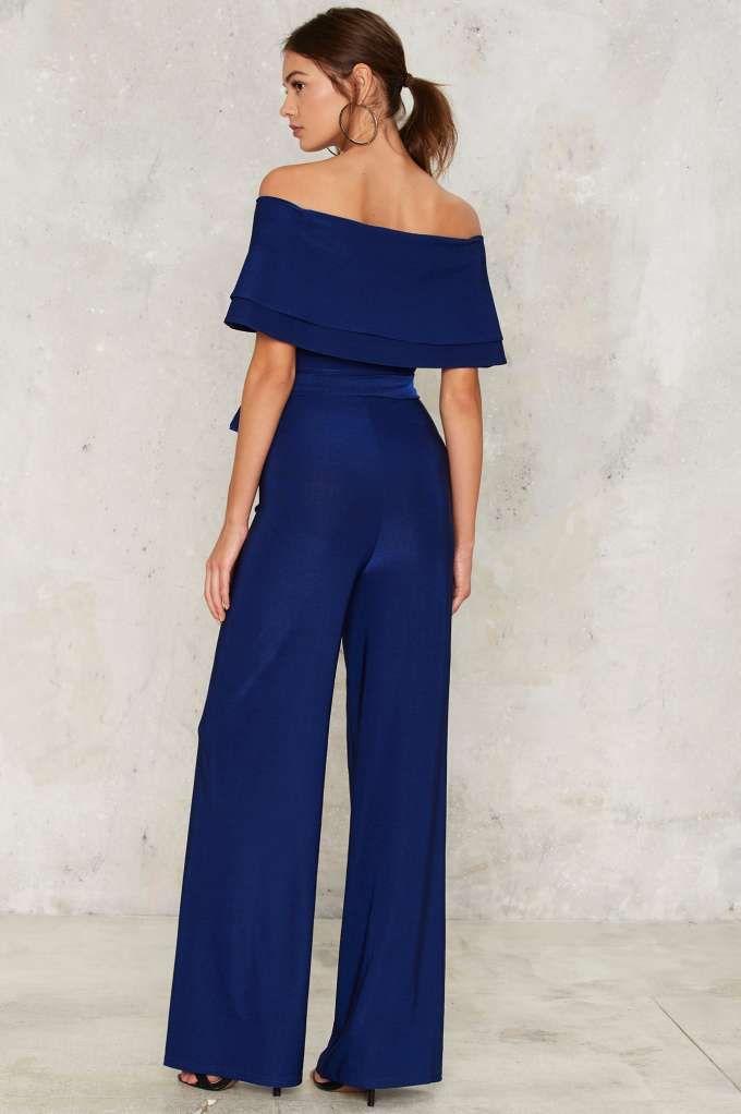 4db771c6eca Till You Get Enough Off-the-Shoulder Jumpsuit - Clothes
